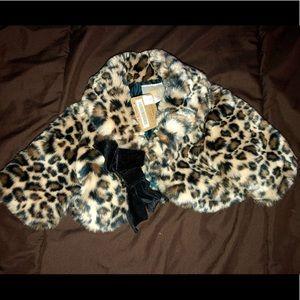 Other - Baby Girl Animal Print Coat